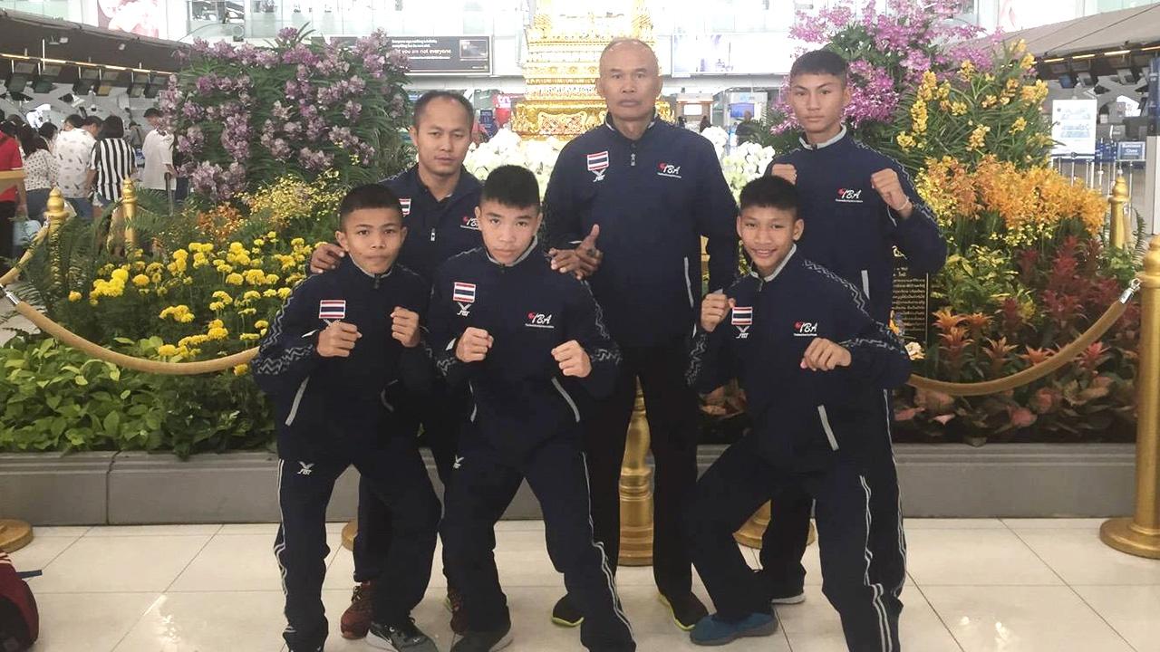 ส.กำปั้นส่งขุนพลเสื้อกล้ามดาวรุ่ง ลุยศึกนักเรียนเอเชีย