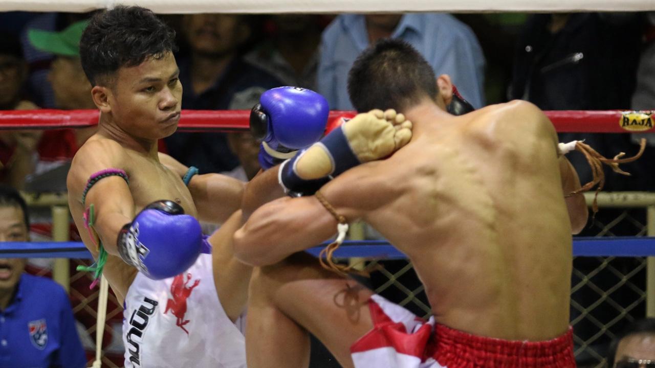 """""""ซุปเปอร์เจ๋ง"""" จิตใจสู้กว่า จะชนะ """"นรินทร์เดช"""" ใน ศึกมวยไทย 1 ที"""