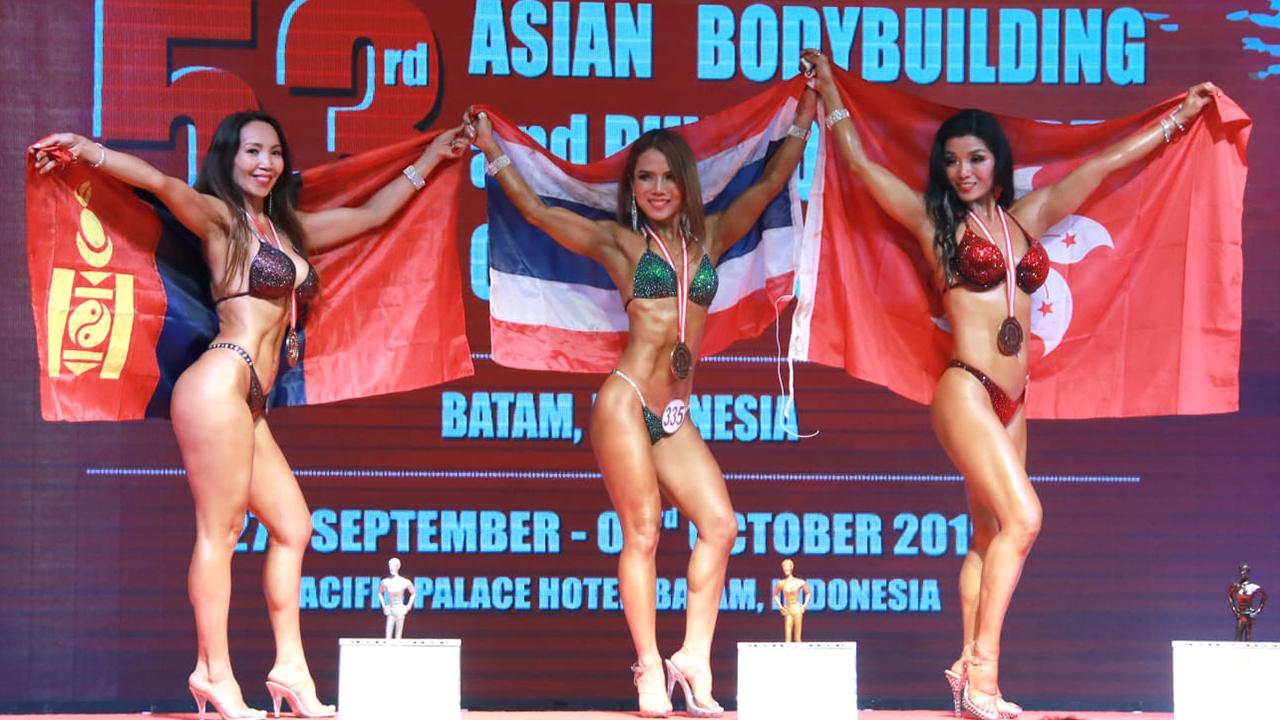 เพาะกายไทยผงาดคว้าถ้วยคะแนนรวม ศึกชิงแชมป์เอเชียที่อินโด