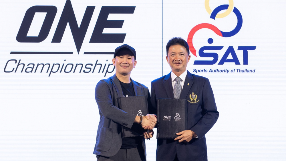 """ONE Championship"" จับมือ ""กกท."" ยกระดับกีฬามวยไทยสู่เวทีโลก"
