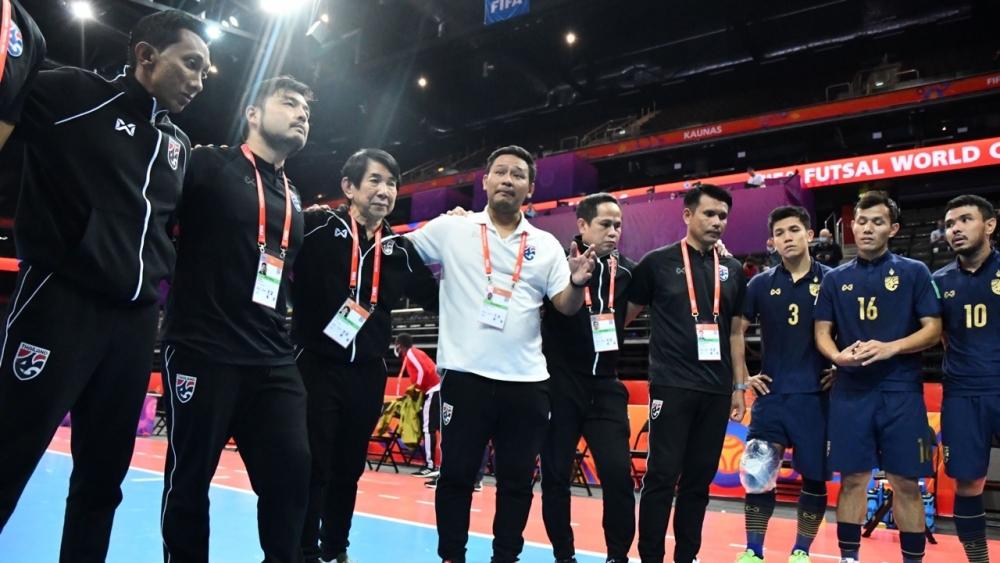 """สรุปเส้นทาง """"ฟุตซอลทีมชาติไทย"""" ในศึกชิงแชมป์โลกที่ลิทัวเนีย"""