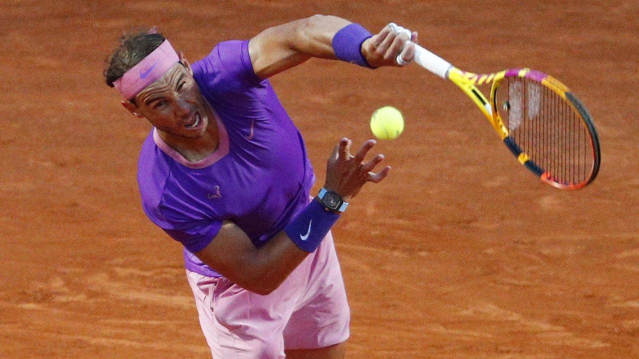 นาดาล เผด็จศึก ซินเนอร์ 2 เซตรวด เข้ารอบ 16 คน เทนนิสที่อิตาลี