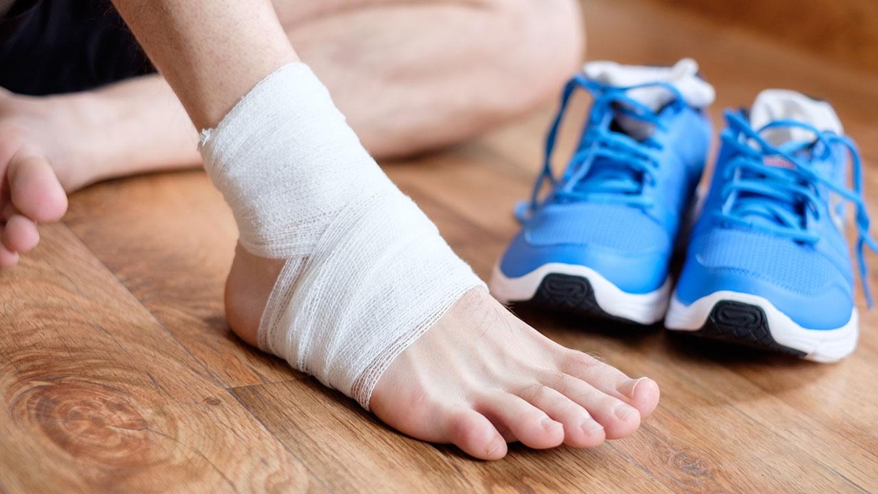 ป้องกันเจ็บข้อเท้า