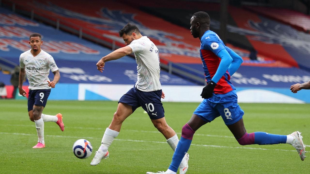 แมนฯ ซิตี้ บุกตบ พาเลซ คาถิ่น 2-0 จ่อคว้าแชมป์ พรีเมียร์ลีก อังกฤษ