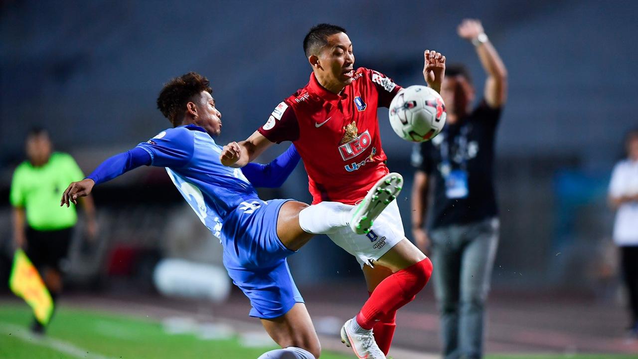 """ปฐมพลซัดชัย """"บีจี ปทุม ยูไนเต็ด"""" บุกเฉือน """"ระยอง"""" 1-0 ทิ้งรองฝูง 19 แต้ม"""