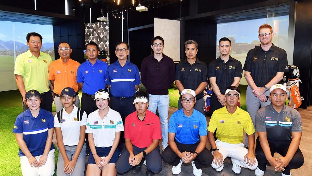 """คับคั่ง นักกอล์ฟทีมชาติไทยเตรียมพร้อมก่อนสู้ศึก """"ซีเกมส์ ครั้งที่ 31"""""""