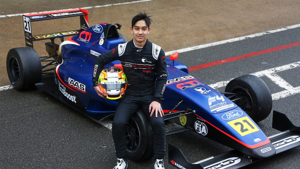 """ชื่นชม """"เติ้น ทัศนพล"""" นักขับดาวรุ่งไทยวัย 15 ปี ที่สร้างชื่อเสียงให้กับประเทศไทย"""