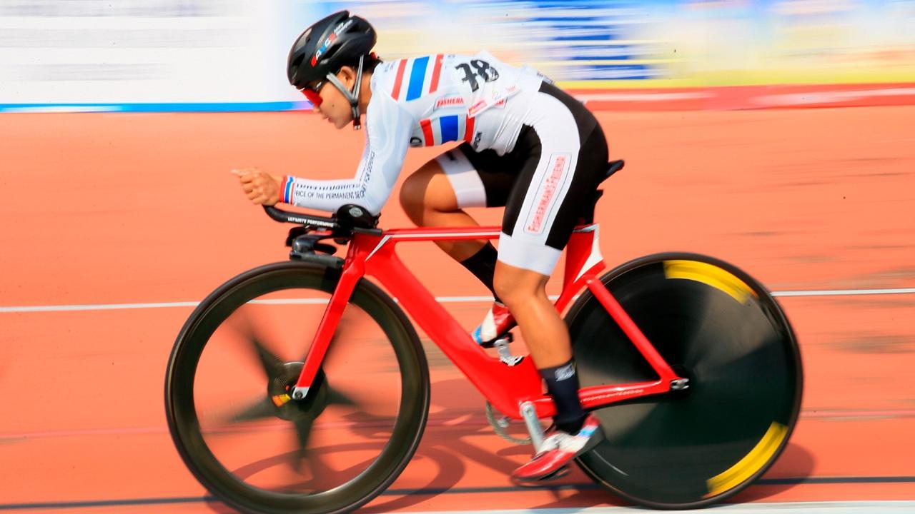 """""""จุฑาธิป"""" คว้า 4 แชมป์ จักรยานชิงแชมป์ประเทศไทย สนามที่ 2"""