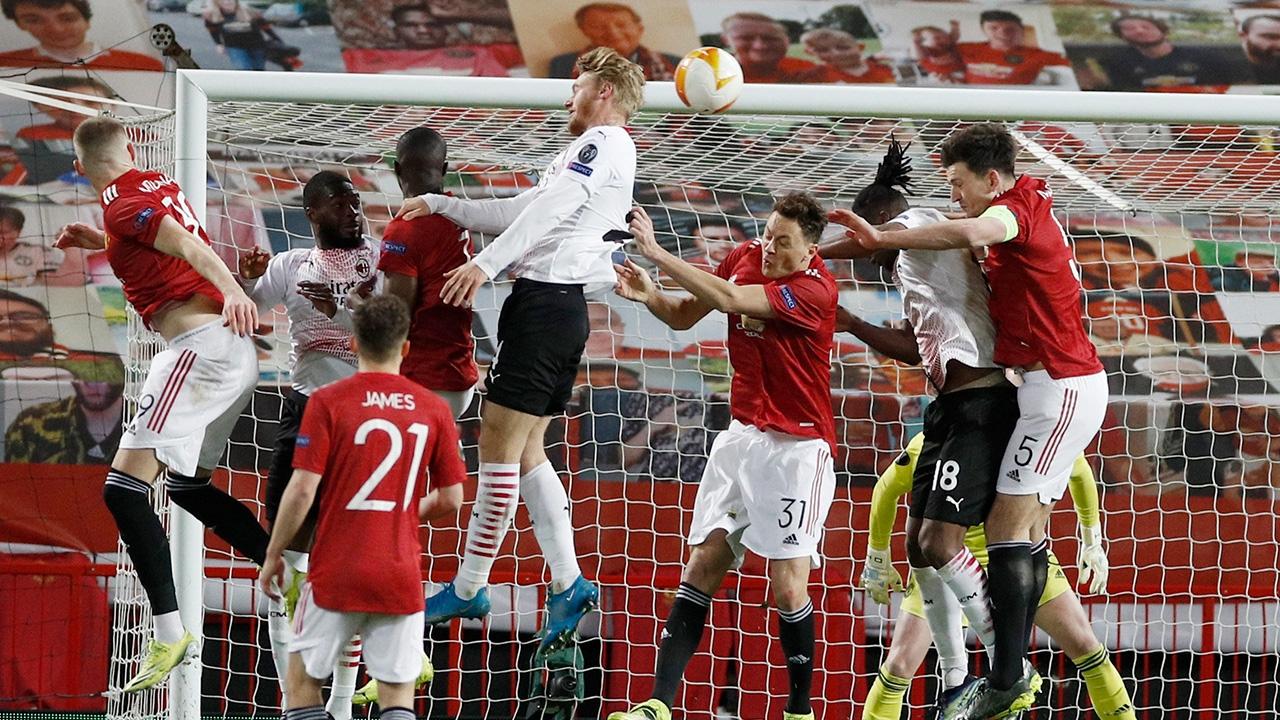 แมนยูฯ วืดชัย โดน มิลาน ไล่เจ๊าทดเจ็บ 1-1 ยกแรก 16 ทีม ยูโรปาลีก