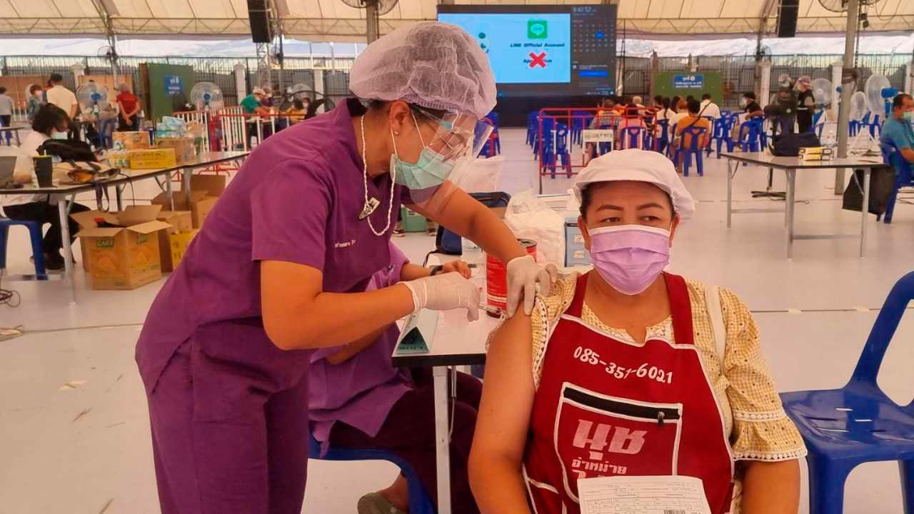 เริ่มฉีดวัคซีนให้ประชาชน สมุทรสาคร นำร่อง 3 หมู่บ้าน