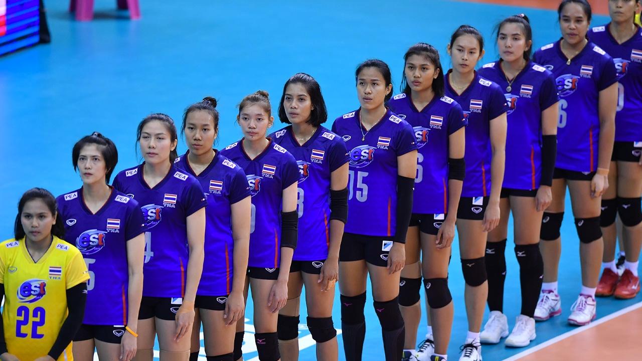 """อย่างเป็นทางการ """"เอฟไอวีบี"""" เผยโปรแกรม """"วอลเลย์บอลหญิงทีมชาติไทย"""" ใน """"เนชันส์ ลีก 2021"""""""