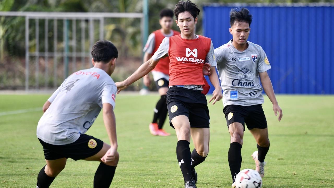 ทีมชาติไทย ยู-18 ประเดิมซ้อม เก็บตัวเตรียมสู้ศึกชิงแชมป์อาเซียน ครั้งที่ 2