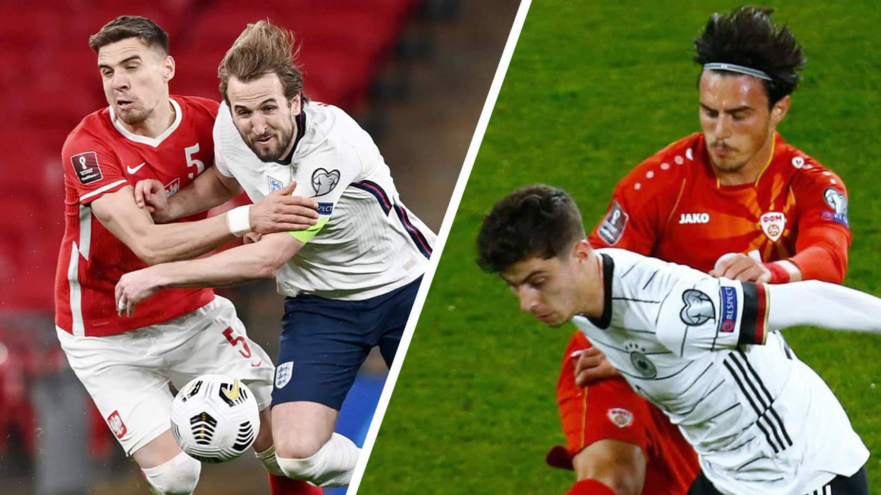 อังกฤษเฉือนโปแลนด์ ฝรั่งเศส-สเปนเฮ เยอรมนีพ่าย สรุปผลคัดบอลโลก 2022