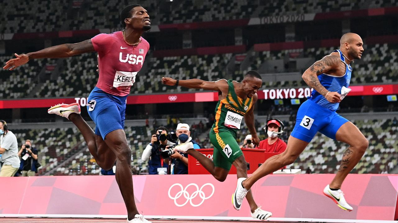 """วันของอิตาลี """"จาค็อบส์"""" คว้าทองวิ่ง 100 ม. """"ทัมเบรี"""" ซิวทองกระโดดสูง โอลิมปิก"""