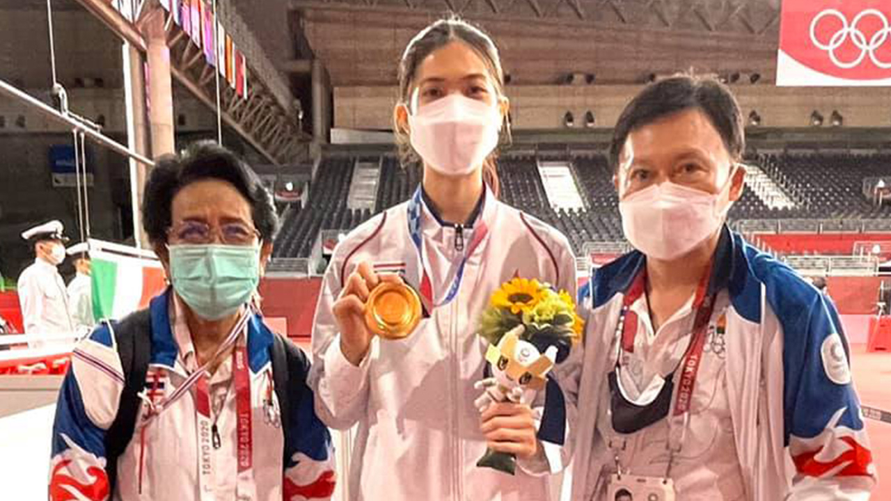 """""""บิ๊กต้อม"""" ชี้ 1 ทองของไทยจาก """"น้องเทนนิส"""" ใน """"โอลิมปิก2020"""" ไม่ล้มเหลว"""