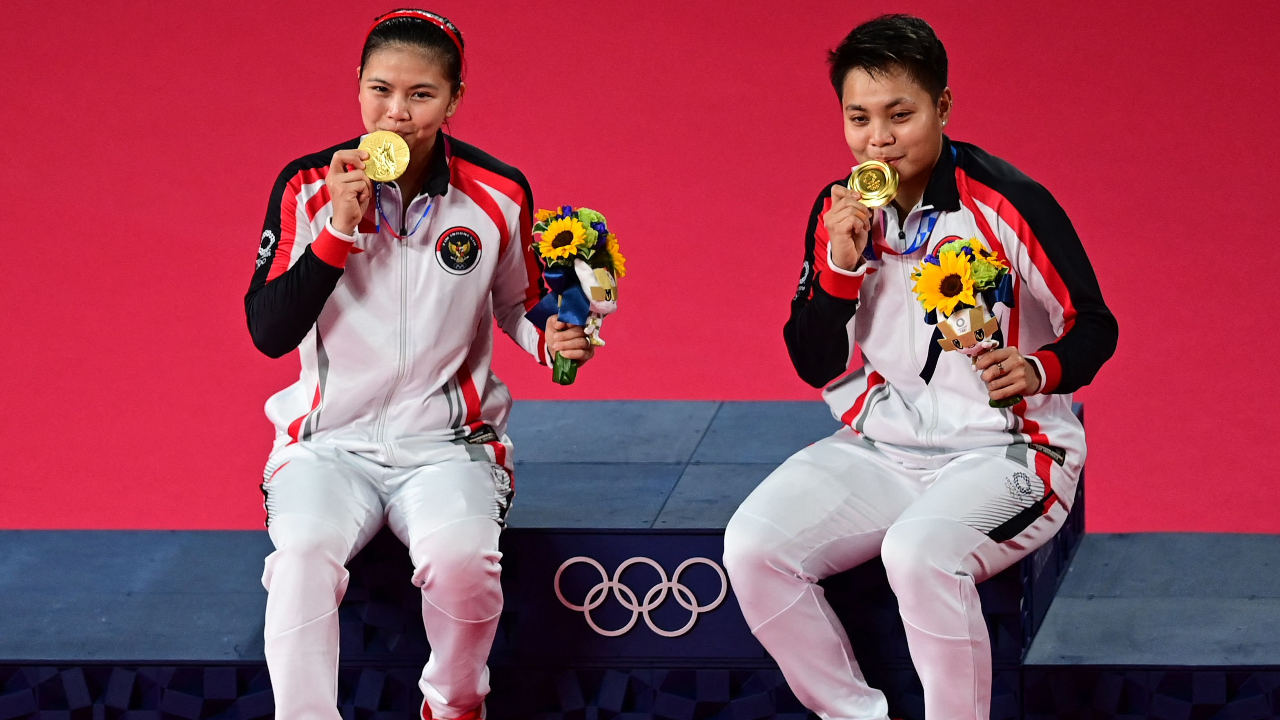 ได้เฮแล้ว อินโดนีเซียประเดิมทองโอลิมปิก 2020 จากแบดฯ หญิงคู่