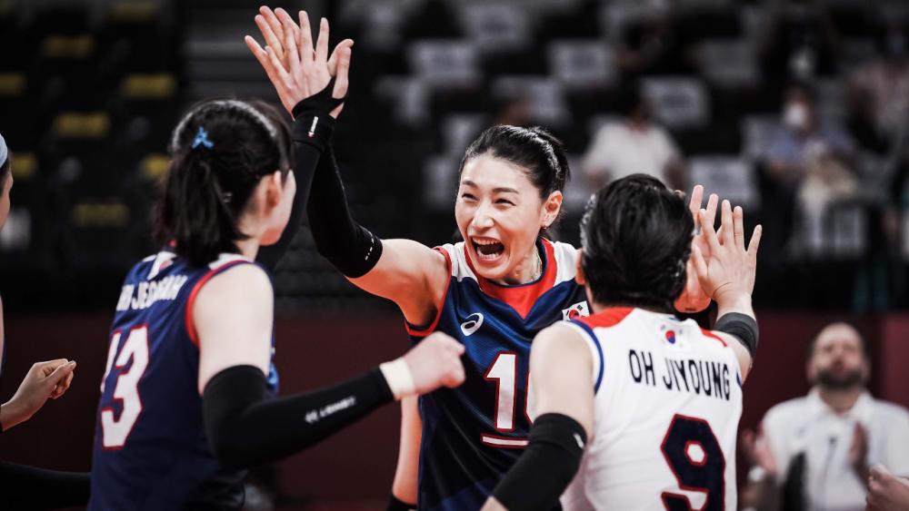 """""""เกาหลีใต้"""" โค่น """"ตุรกี"""" ทะลุรอบรองฯ """"วอลเลย์บอลหญิงโอลิมปิก 2020"""""""