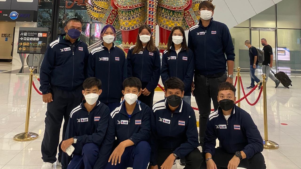 """""""6 นักหวดทีมชาติไทย"""" พร้อมเต็มสูบก่อนบินลุยศึกเทนนิสโลกที่เช็ก"""