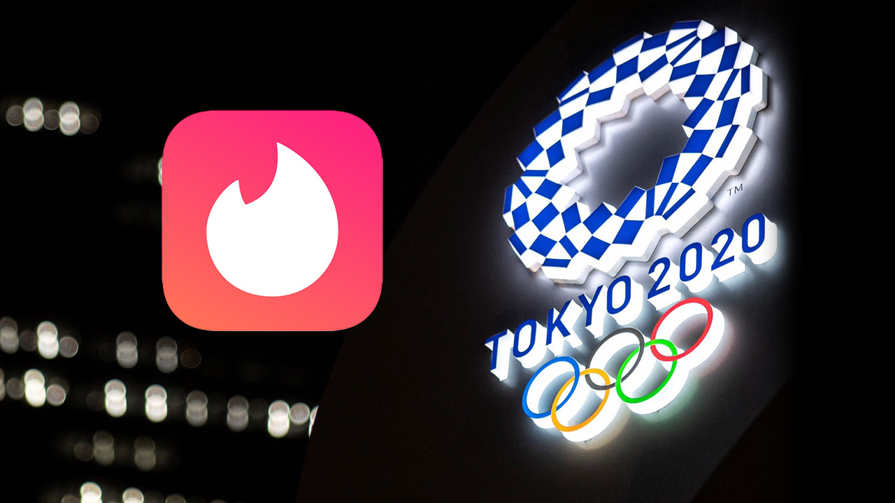 """ปัดขวารัวๆ Tinder ยอดพุ่ง 1,850% หลัง """"คนดัง"""" ปักหมุดหมู่บ้านโอลิมปิกหวังพบรักนักกีฬา"""