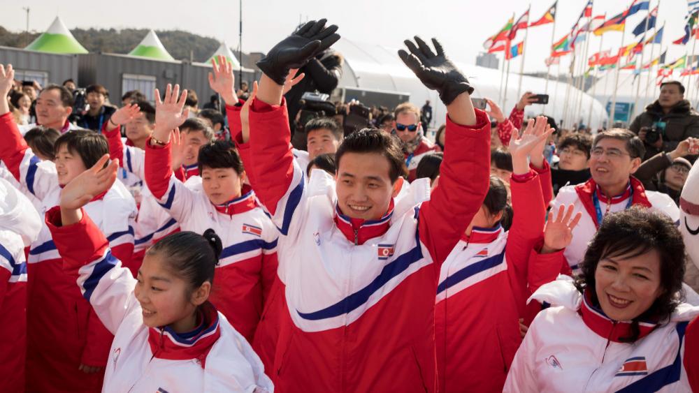 """""""ไอโอซี"""" ไฟเขียวนักกีฬาเกาหลีเหนือ เข้าร่วมโอลิมปิกฤดูหนาว 2022"""