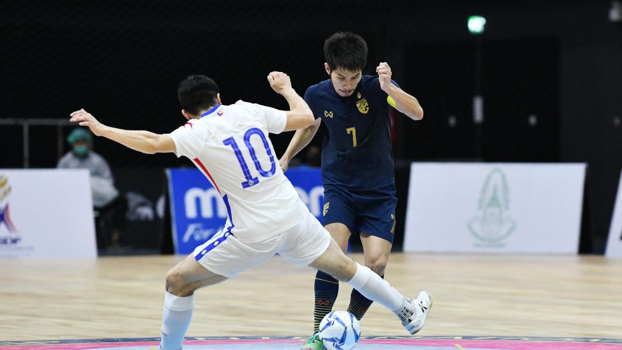 """โต๊ะเล็กทีมชาติไทย อุ่นหรูฟาด """"ชิลี"""" ขาดลอยเก็บชัย 2 นัดติดศึก 4 เส้า"""