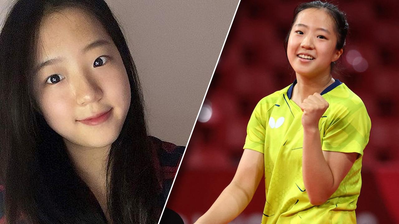 """ส่องความน่ารัก """"ชิน ยู บิน"""" นักตบลูกเด้งดาวรุ่งเกาหลีใต้ ในโอลิมปิก 2020"""
