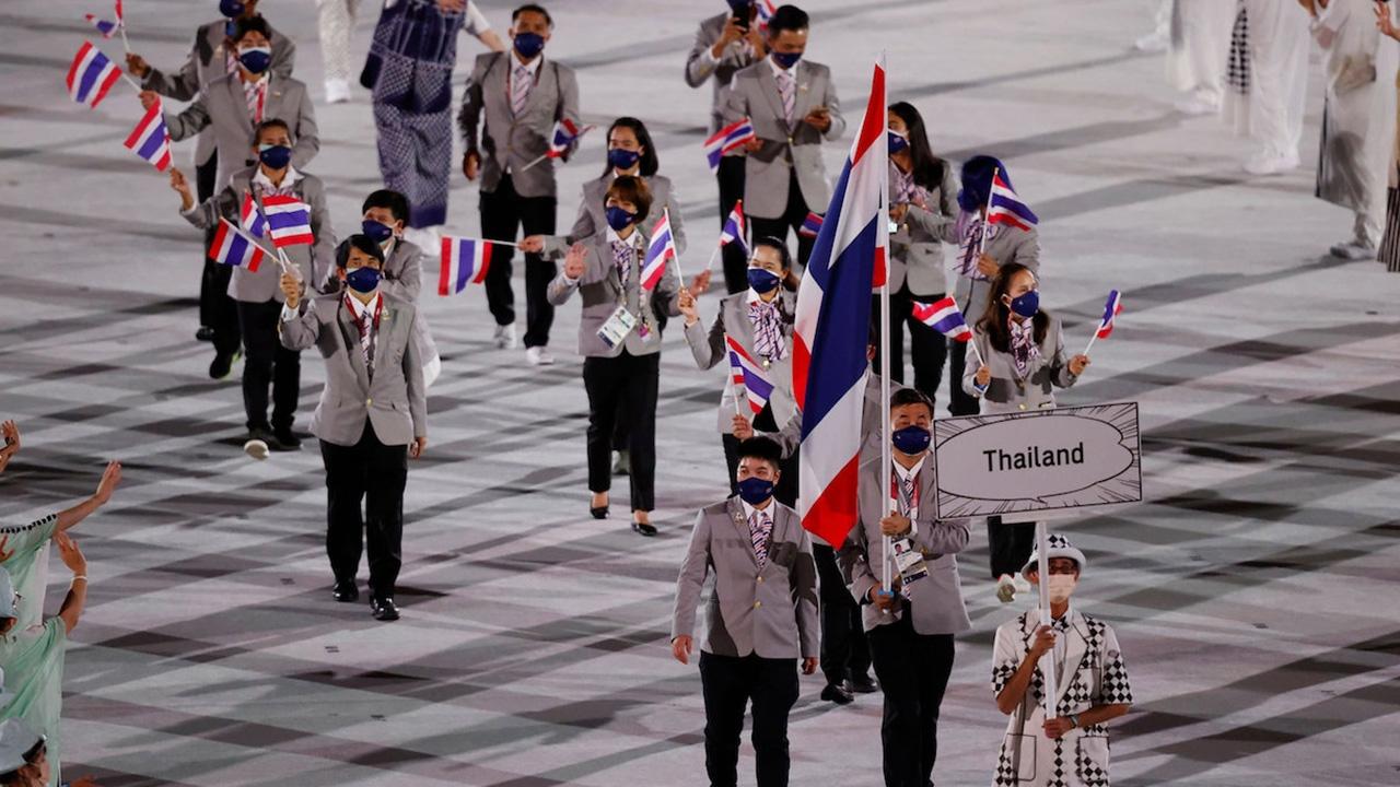 """ย้อนดูยูนิฟอร์ม """"ทีมชาติไทย"""" ในโอลิมปิกเกมส์ 3 ครั้งล่าสุด"""