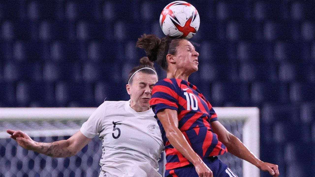 สรุปผลบอลหญิง โอลิมปิก 2020 รอบแบ่งกลุ่ม นัดสอง 6 คู่ ยิงสนั่น 31 ประตู