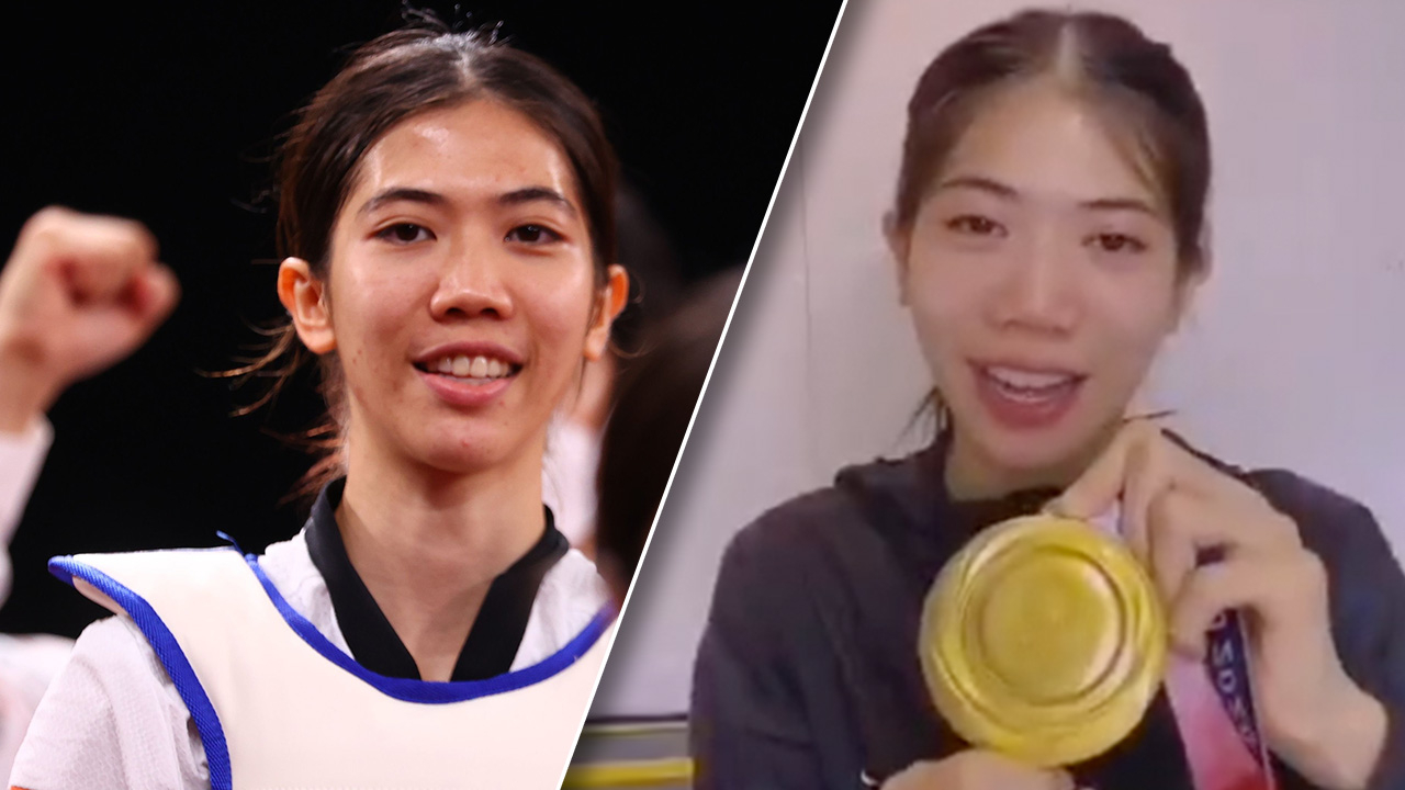 """""""เทนนิส"""" พาณิภัค ส่งคลิปขอบคุณคนไทย ที่ส่งใจเชียร์คว้าทองโอลิมปิก"""