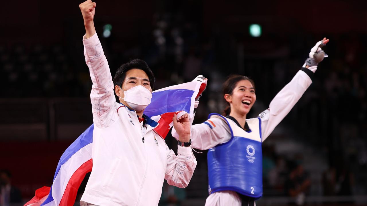 """""""โค้ชเช"""" เปิดใจสื่อเกาหลีหลังพาไทยคว้าทองแรกโอลิมปิก-เผยความคืบหน้าขอสัญชาติไทย"""