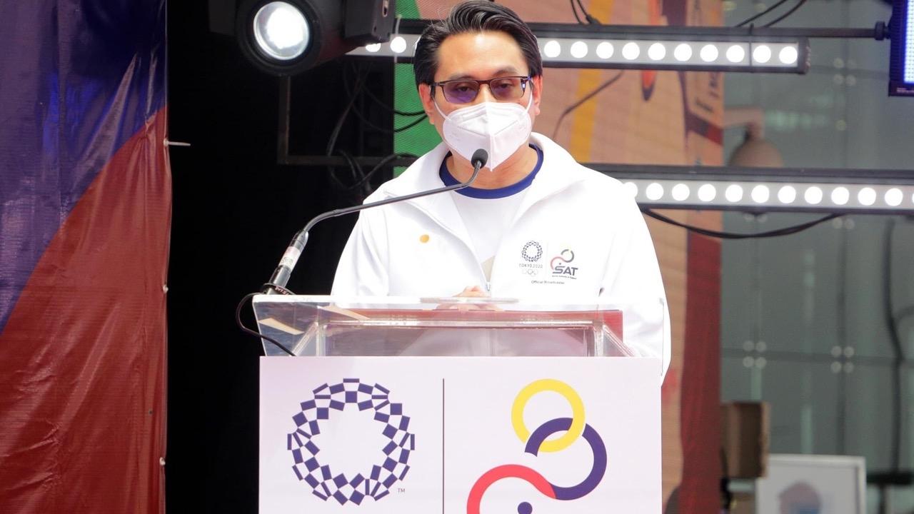 """""""ก้องศักด"""" ชู 41 นักกีฬาโอลิมปิกเกมส์โตเกียว 2020 เป็นฮีโร่กีฬาไทย"""