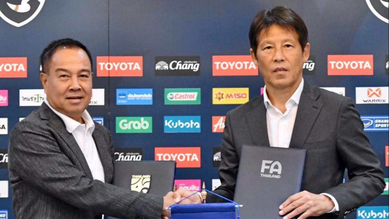 """ส.บอล เผยแผนถกสัญญา """"นิชิโนะ"""" หลังข่าวลือกุนซือเกาหลีใต้สนคุมทีมชาติไทย"""
