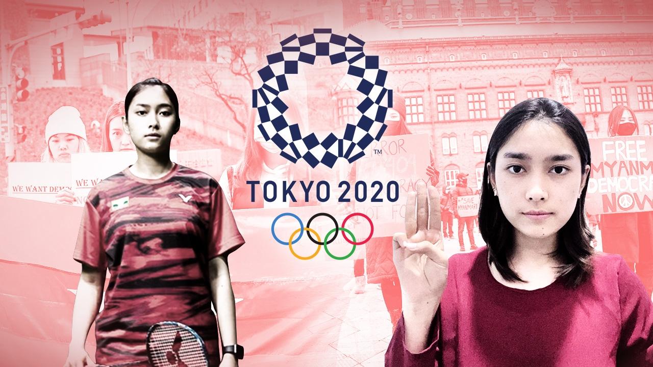 """""""เธต ทาร์ ธูซาร์"""" ความภูมิใจบนความขัดแย้งของเมียนมา ในโอลิมปิก 2020"""