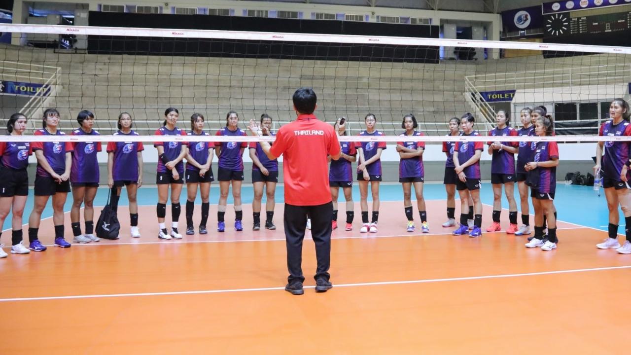 """""""วอลเลย์บอลหญิงไทย"""" เตรียมเก็บตัวอ่างทอง ลุยศึกชิงแชมป์เอเชีย 2021"""