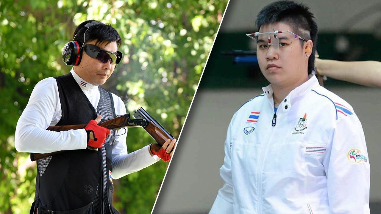 """""""บิ๊กต้อม"""" คอนเฟิร์ม """"เศวต-ณภัสวรรณ"""" ถือธงชาติไทยร่วมพิธีเปิดโอลิมปิก"""