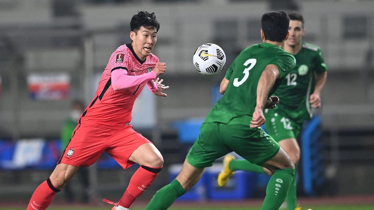 ซอนเกือบยิงได้ เกาหลีใต้ ถล่ม เติร์กเมนิสถาน 5-0 ขึ้นจ่าฝูงกลุ่มคัดบอลโลก