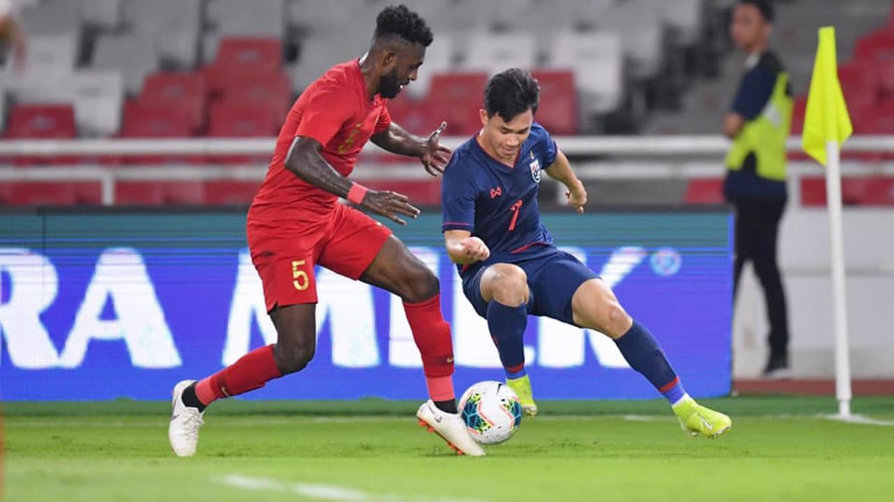 """เปิดสถิติ 5 นัดหลังสุด """"ทีมชาติไทย-อินโดนีเซีย"""" ก่อนดวลเกมคัดบอลโลก 2022"""