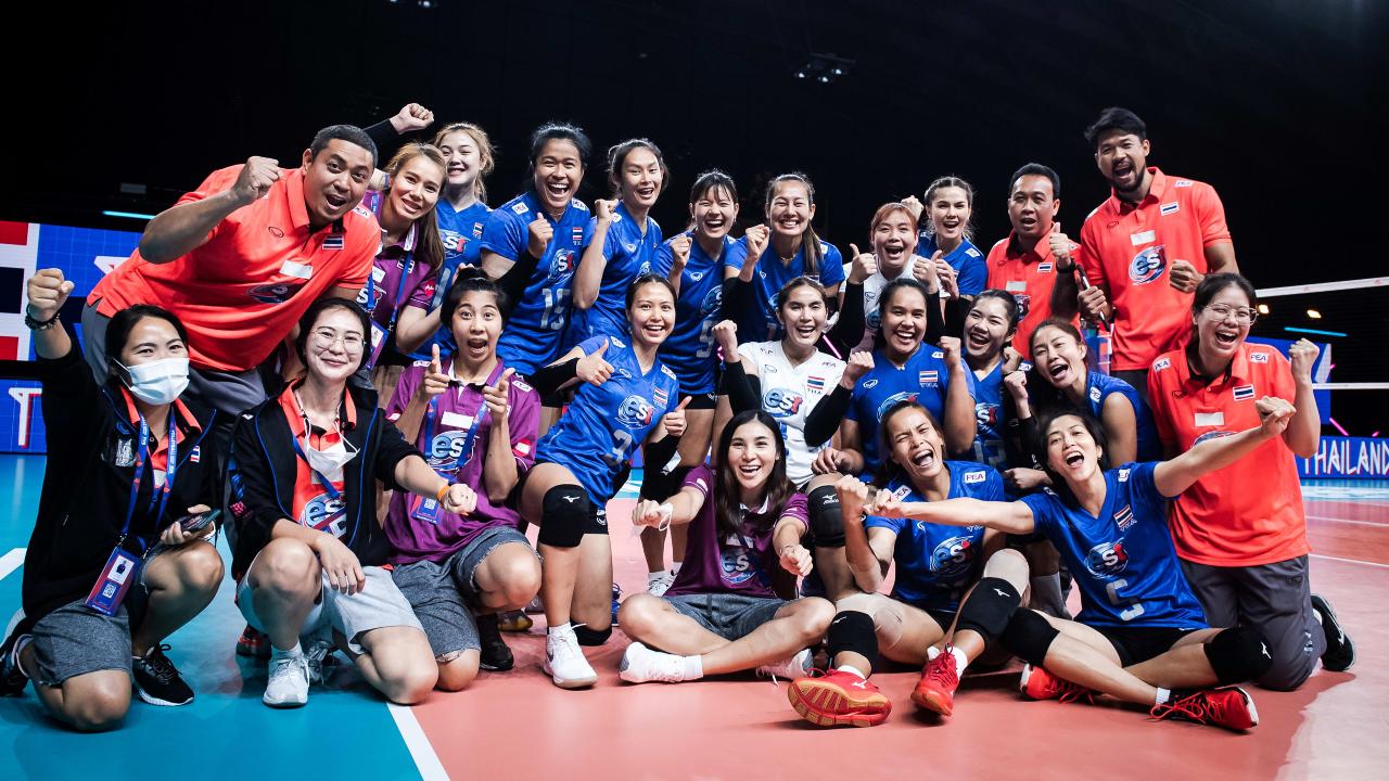 แรงกิ้งโลก ลูกยางหญิงทีมชาติไทย จบสัปดาห์ 4 VNL2021