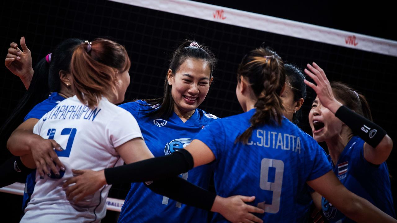 สู้เต็มที่ สาวไทยพ่ายเบลเยียมสนุก 1-3 เซต วอลเลย์บอลเนชันส์ลีก