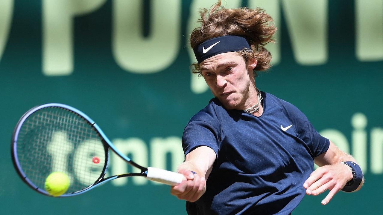 """เทนนิสโนเวนติ โอเพ่น ได้คู่ชิง """"อังเดร รูเบลฟ"""" ดวลเดือด """"อูโก อุมแบร์"""""""
