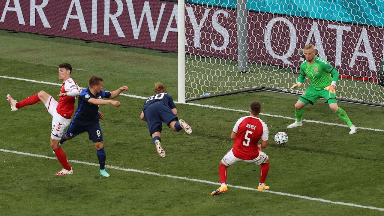 โป้งเดียวจอด ฟินแลนด์ เฉือน เดนมาร์ก 1-0 ประเดิมชัยยูโร 2020 หามอีริคเซนส่ง รพ.