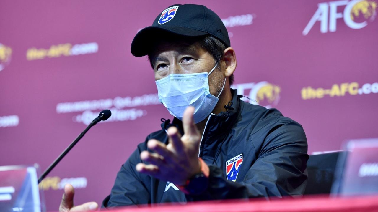 """""""นิชิโนะ"""" ชี้ชัดจุดแข็งมาเลเซีย ขอนำ """"ทีมชาติไทย"""" ซิวชัยส่งท้าย คัดบอลโลก"""