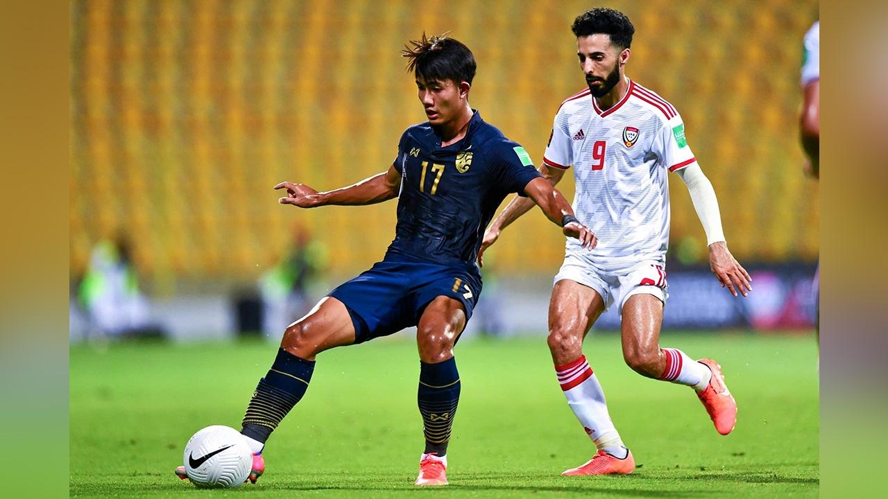 """""""ช้างศึกไทย"""" ตกรอบอดไปแข่งต่อในรอบ 12 ทีมคัดบอลโลก"""