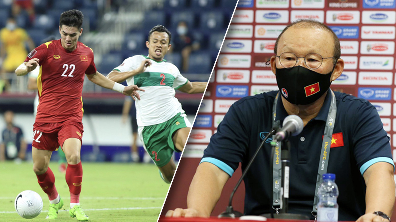 """""""ปาร์ค ฮัง ซอ"""" เตือนเวียดนามยังไม่เข้ารอบคัดบอลโลก เผยหมากเด็ดยำอินโดนีเซีย"""