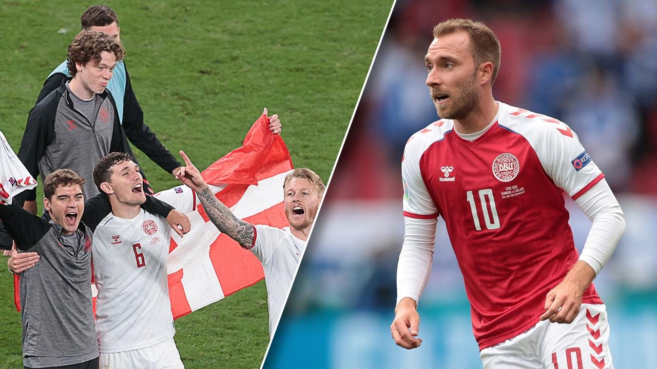 """""""เดนมาร์ก"""" ชี้ """"อีริคเซน"""" แรงกระตุ้นเข้ารอบ 16 ทีม ยูโร 2020 เจ้าตัวร่วมยินดี"""