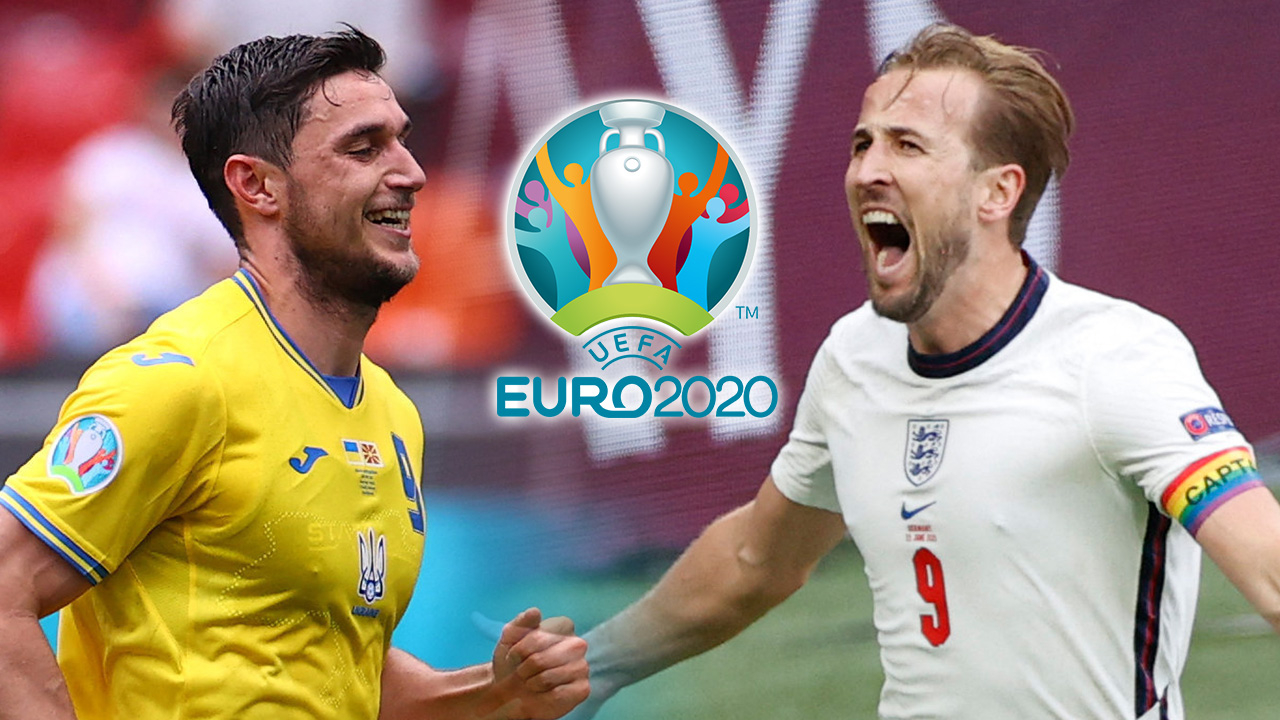 """วัดสถิติ-วิเคราะห์ก่อนเกม  """"ยูเครน VS อังกฤษ"""" รอบ 8 ทีมยูโร 2020"""